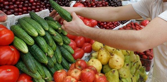 cucumber produce